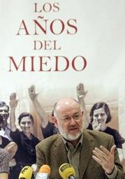 Juan Eslava Galán, durante la presentación de su libro